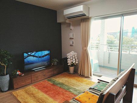 風雅TVボード1800mmウォールナット1