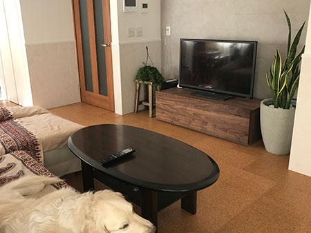 彩美TVボード2
