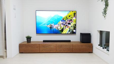風雅テレビボード ブラックチェリー 幅2300mm-1