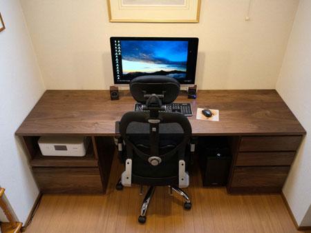 システムデスク 設置写真1