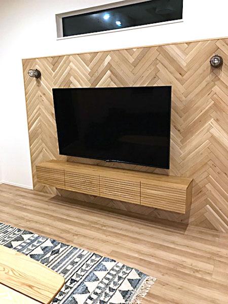 風雅テレビボード フロートタイプ2