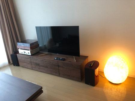 風雅TVボードタイプ2 ウォールナット
