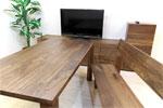 ウォルナットの家具