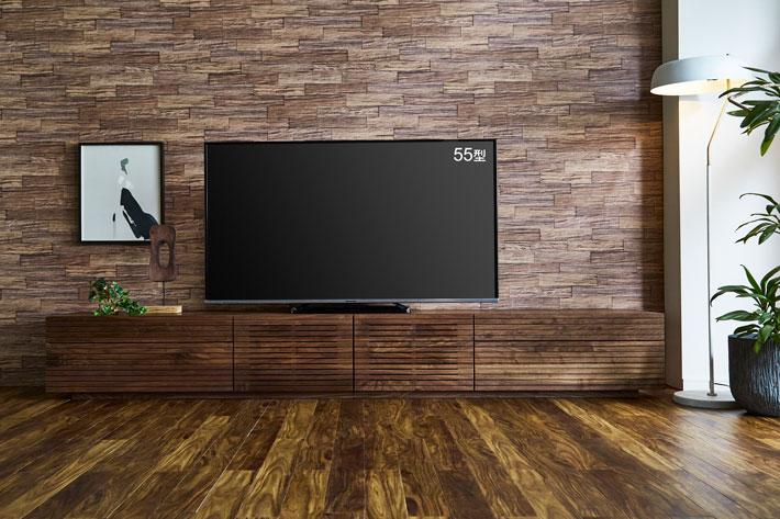 天然木・無垢テレビボード 風雅タイプ2 ウォールナット#09